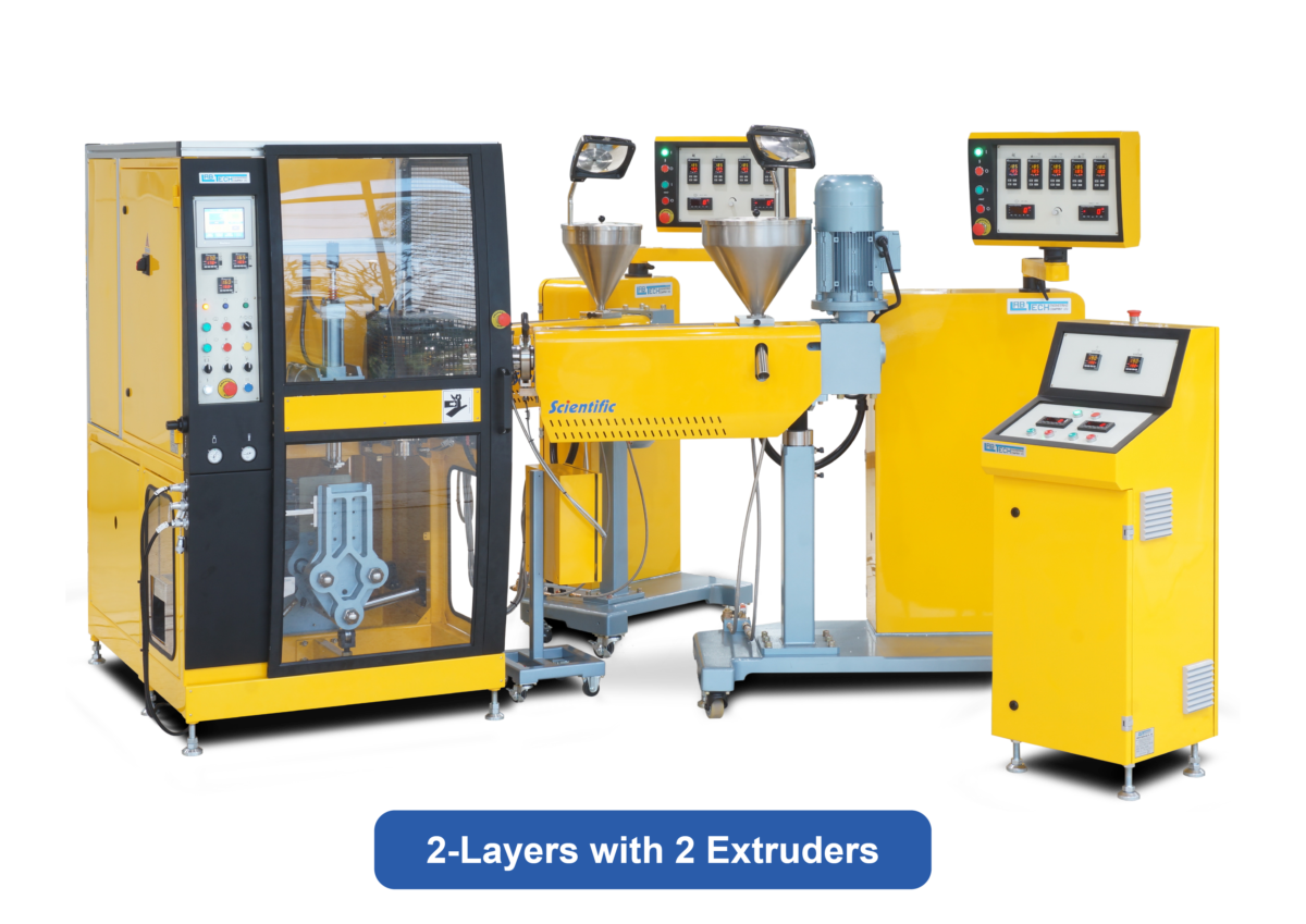 Co Extrusion Bottle Blow Moulding line   Labtech Engineering
